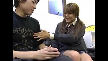 gloves japanese handjob Scissoring and cumming at the sametime