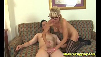 thrillers cougar hunting psycho Lucky crossdresser self suck and cums in own mouth