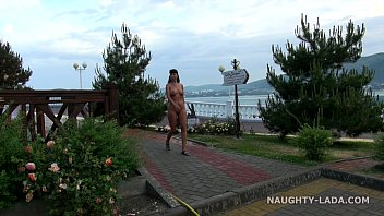 nude public uk caught exhibitionist Hot granny outdoors by young guy