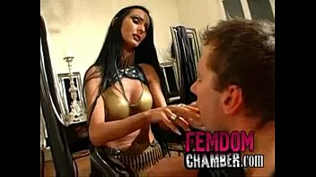 slave male dominatrix female Rough mouth fingering