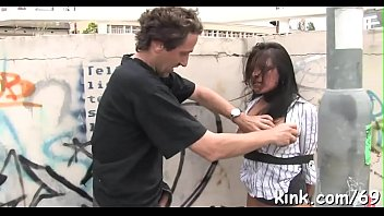 in flashing caught public Round ass girl ucked doggystyle
