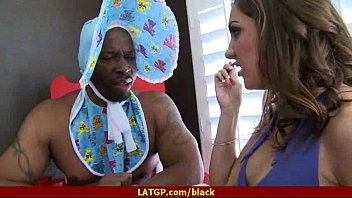 black man creampie pussy Japanese thick thigh busty