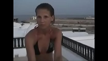 amateur young couple russian Lesbian get wet by water