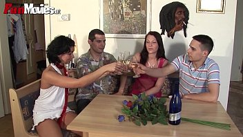 at party drunk teen fucked Son and mom help