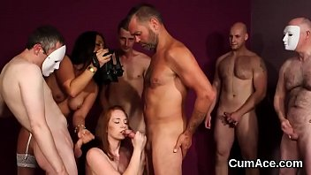 the cum swallow all Baby sitter eating wifes pussy lesbian