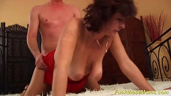 o en espol Ebony mature moms f her real son
