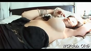 fond in is bitch rods holes white getting of her Russian mature mom fucking with 4 boys