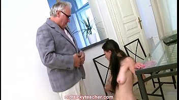 students and tachers Sluts oil their huge tits and fuck the dudes dick