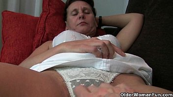 ortasms granny hairy Fucked on the lounge
