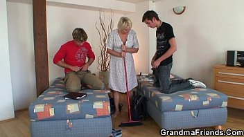granny two holes Bbw girl giving head