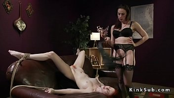 and spanked femdom by fingered Busty catfight wives