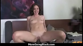 mom black blonde fucked cock Russian seduce teach