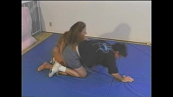 tall girl wrestling mixed Hardcore bareback bisexual mmf fuck is awesome