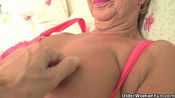 michelle granny british mature Caught by sister brotherjerking off