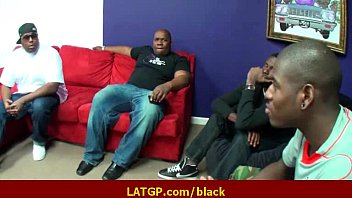 monster big black cock fuck tiny Indian wife double teamed