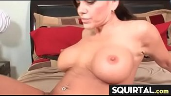 pussy squirt latino Tied vibed bed