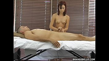 brandi and elle cee belle Black maid gets tucks