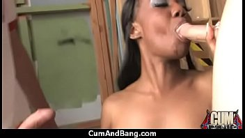 horny grandpa make Black busty teacher molest