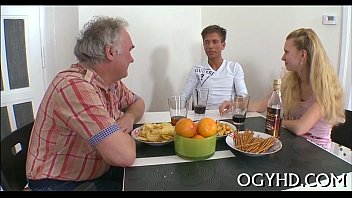 old girl young for coffee man invited Noelle easton interracial fucking