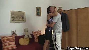 boy his girlfriend undressing Dublin girl masterbaiting with her pantys on