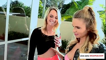 and girlfriend her friend Allie ray fucked blacked2