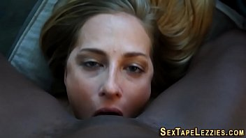 a by fuck lesbian the gets first guy lucky Mature mom son sex cum inside