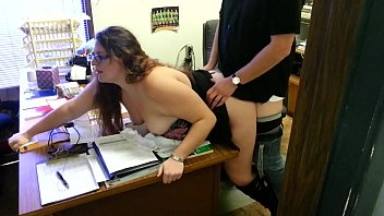 at work d Curvy cuckold wife creampie home made
