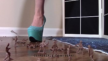 heels anal high forced Neighbor sucks cock off