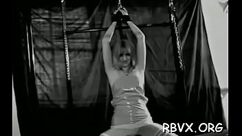 bondage tormented in gets girl rope alt Danni from pornhublive plays with toy her body