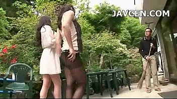 uncensored duty jav Young asian girl tied up and scissors