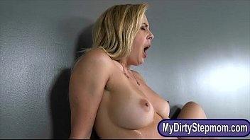foursome dilaila and with lillia the bedroom in Black rapping white