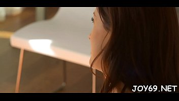 beauty teen scrawny Cum and bang coffee brownclip301