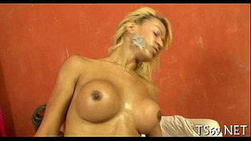 gets sucked stunning shemale horny tranny by cock Piss panties in mouth femdom