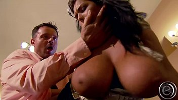 ebony secretary strip John see man
