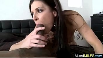 mature cock with big black Boy fucks milf in front of dad