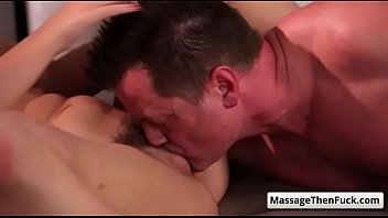 watch wife massage Slave forcd dad