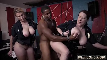 encouragement creampie milf Janet mason gets fucked by two horny black guys