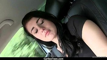 alessandra smashed jane teen car the in Naughty in sleeping