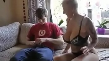 kitchen mom blowjob3 blackmail step Hunk bangs a lusty oriental playgirl with his cock