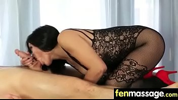 massage skinny ol in Real granny inges with son
