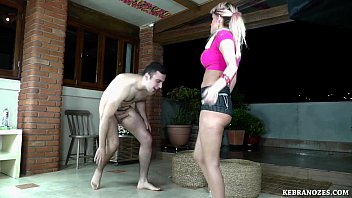 asian5 ballbusting by Amateur wife recording