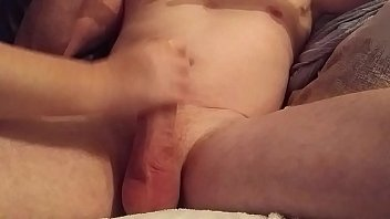 first handjob double with cumshot Ass in her cunt lesbian