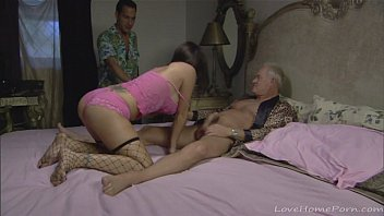 brunette young a shaved threesome in Strip club journey music