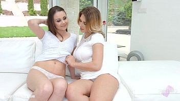 stunning from erotica sapphic lesbian irene and nella teens fignering Brother kissing sister on lips