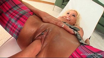 lacey in lay pussy takes bbc her Ballbusting girlfriend amateur