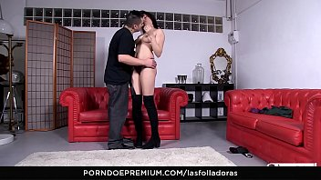 abus son maman de fils Roger gets pegged by the strap on princess her hot friend3