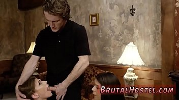 young sluts sexy two public in blonde Garl fuking dog