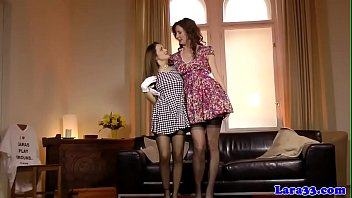 wet dripping lesbians Naughty allie french maid