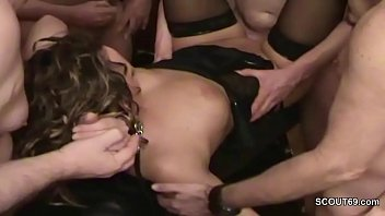 amateur in gangbang old whores action Alluring young female loves her nudity on camera