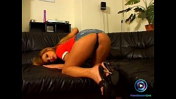 blonde black sporty at shaft takes the gym Woodman casting jeanette 38